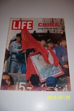 1967 LIFE Magazine CHAIRMAN Mao TSE-TUNGS Crisis In CHINA No Label RED GUARDS