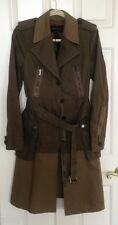 BCBG Max Azria Militar Style Trench Jacket Coat Size S , New With Tags $498