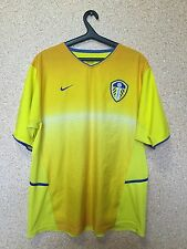 Leeds United ENGLAND 2002/2003/2004 AWAY FOOTBALL SHIRT JERSEY MAGLIA NIKE