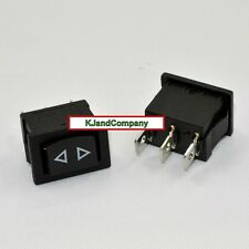 SPDT 10 amp (small) momentary ~ 3 PIN (on-off-on) ~  Switch US SELLER & SHIPPER