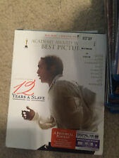 12 Years a Slave (Blu-ray Disc, 2014) GREAT SHAPE WITH SLIP COVER