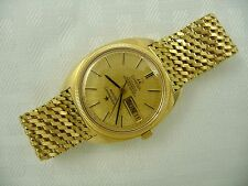 1968 Mens 18K GOLD OMEGA CONSTELLATION Wristwatch - Serviced - Warranty