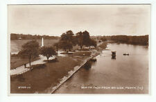 North Inch From Bridge Perth 1923 Real Photograph Valentines 87593 Scotland