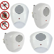 NEW 4X Ultrasonic Pest Repeller Plug In Pest Rodent Mouse Mice Rat Spider Insect