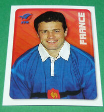 N°129 XV FRANCE FFR MERLIN IRB RUGBY WORLD CUP 1999 PANINI COUPE MONDE