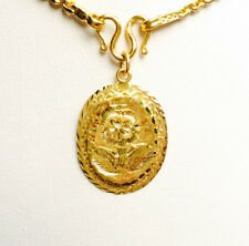 PURE 99.99 SOLID 24K yellow gold Pendant 1.99g.
