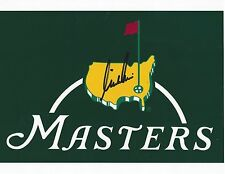 Nick Price signed autographed 8x10 photo The Masters Flag logo photo