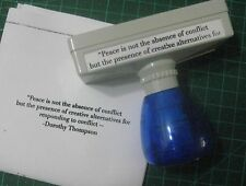 CUSTOMIZED PRE-INK SELF-INKING RUBBER STAMP ( MEDIAL)