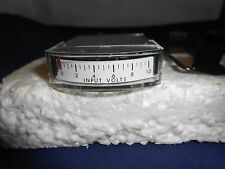 1122  VOLTS METER  0-1    NEW OLD STOCK 1 1/2""
