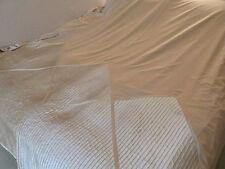 ANN KLEIN NY FAUX SATIN FULL/QUEEN DUVET 2 SHAMS BEDSKIRT GOLD TONES