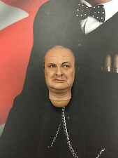 "Dragon en Dreams a winston churchill 12"" head sculpt 1 loose échelle 1/6th"