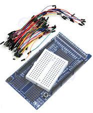 New MEGA Prototype Shield ProtoShield V3 Bread Board For Arduino Jump Cable Wire