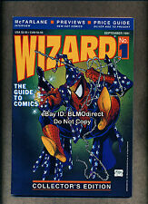 1991 Wizard Magazine #1 VF/NM Spider-Man Todd McFarlane Poster Included