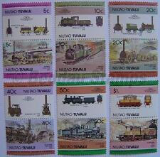 1984 NIUTAO Set #1 Train Locomotive Railway Stamps (Leaders of the World)