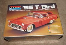 Monogram 1956 '56 T-Bird Removeable Hardtop #2289 1/24 scale SEALED