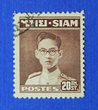1947 THAILAND 20 SATANGS SCOTT# 266 MICHEL # 266 USED                    CS24260