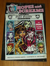 HOPES AND SCREAMS LITTLE BROWN HEATHER NUHFER GRAPHIC NOVEL  9780316254335