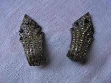 BIJOU 14 Clips Boucles d'oreilles style Art Déco Vintage 90 clips earrings