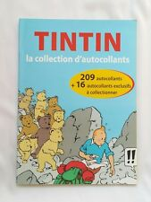 BD - Tintin la collection d'autocollants COMPLET / MOULINSART & LE SOIR / PANINI