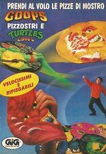 X4083 Prendi al volo le pizze di mostro - GIG - Pubblicità 1991 - Advertising