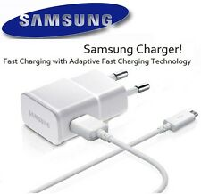 NEW Samsung 2.0A Universal Mobile Charger USB Power Wall Adapter + 1M Sync Cable
