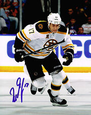 MILAN LUCIC signed BOSTON BRUINS  8X10 photo w/ COA