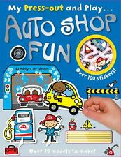 Press-Out and Play Autoshop Fun by John A. Abbott (2013, Paperback)