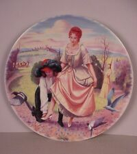 Cinderella Collector Plate ; Cendrillon  French Limoges 1983 Walt Disney Europe