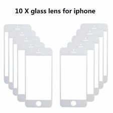 10x New White Front Outer Screen Glass Lens Cover Replaceme for iphone 5 5S 5C
