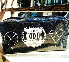 EXO XOXO FIRST YEAR KISS HUG KPOP COSMETIC BAG PENCIL CASE NEW