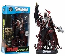 "SPAWN REBIRTH 'Hamburger Head' 7"" inch ACTION FIGURE COLOUR TOPS BLUE MCFARLANE"