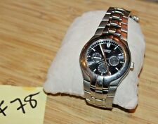 Men's Casio Edifice EF-304 WR 10 BAR Working New Battery Nice F78