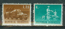 Briefmarken Indonesien 1964 Transport und Verkehr Mi.Nr.435+38