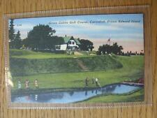 1900's-50's Golf Picture Postcard: North America & Canada  - Green gables Golf C