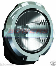 "SIM 3229 12V/24V 7"" INCH CHROME RIM ROUND HALOGEN DRIVING SPOTLIGHT SPOTLAMP 4x4"