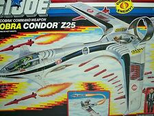 D0589991 CONDOR Z25 1988 GI JOE COBRA MISB MIB FACTORY SEALED BOX