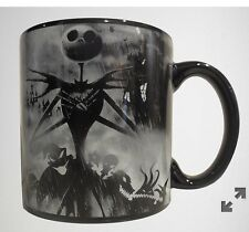 nightmare before christmas LG DISNEY STORMY JACK MUG CAST OF CHARACTERS NEW