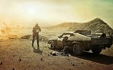POSTER MAD MAX FURY ROAD CHARLIZE THERON TOM HARDY MEL GIBSON INTERCEPTOR #19