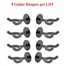 Top Stage®  8-PACK Wall Mount Guitar Hangers Hook Stand Holder, GR5-L8