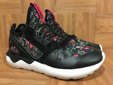 Used♻️ Adidas Tubular Runner Flower Pack Floral Sz 6.5 Women's Running Shoes LE