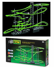 Glow In The Dark Space Rail Race 10m Marble Run Track Marble RunToy Games New