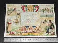 CHROMO 1890-1900 AU BON MARCHE BOUCICAUT PARIS HOLLANDE AMSTERDAM ROTTERDAM NL