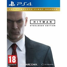 Hitman the complete first season steelbook PS4 game brand new