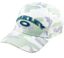 Oakley Arc Cap White S/M Mens Womens Casual Golf Baseball Sport Summer Hat Gift