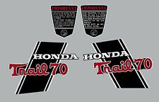 HONDA CT70H K0  DECAL SET