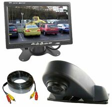 Overhang Roof Mount Camera Van Rear View Reversing System & Dash Monitor
