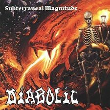 Subterraneal Magnitude by Diabolic (CD, Oct-2001, Conquest Music, Inc.)