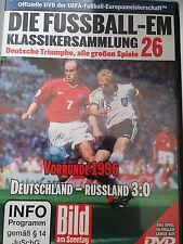 EM Fussball Klassikersammlung 26 Vorrunde 1996 Deutschland vs Russland Orig DVD