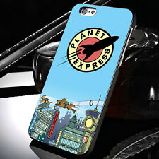 New Futurama Planet Express For iPhone 6 Samsung Galaxy Edge Note 3 4 5 Case t1