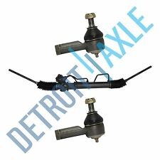 Complete Power Steering Rack and Pinion Assembly + BOTH Outer Tie Rods Ends